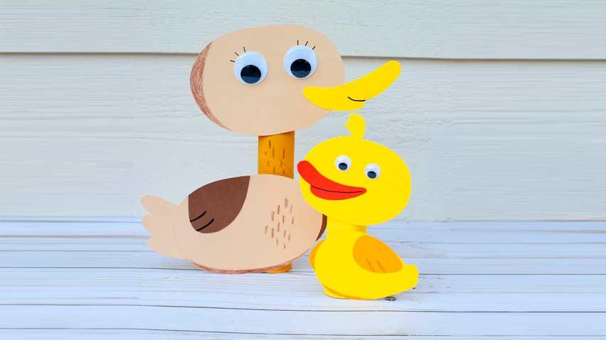 مادر و اردک کوچولو